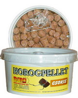 Horogpellet 15 mm (csokis)