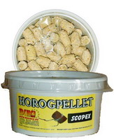 Horogpellet 15 mm (scopex)