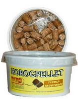 Horogpellet 15 mm (mogyorós)