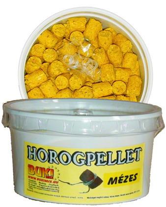 Horogpellet 8 mm /süllyedő/ + gratis - mézes