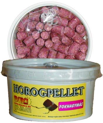 Horogpellet 8 mm /süllyedő/ + gratis - fokhagymás