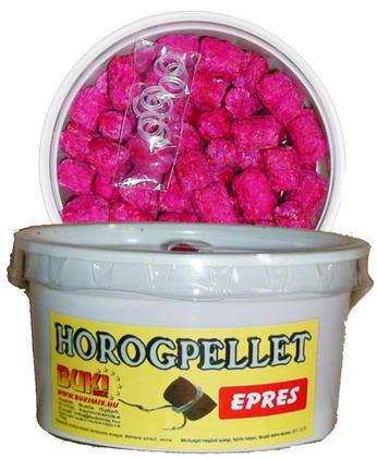 Horogpellet 15 mm /süllyedő/ + gratis - epres